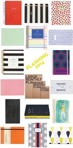 PLANNING 2014 – 17 planners to get a jump on 2014!