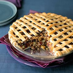 Apple and Dried-Fruit Spice Pie