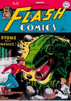 Flash Comics #86.  Her backstory is slightly complex.  But the Black Canary makes her first ever appearance here.