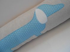 Spotty Sausage Dog Draught Excluder Bolster Cushion £24.50