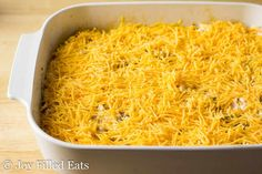 cheese covered easy taco casserole