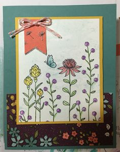 Stampin' Up! Flowering Fields