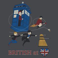 British at Heart T-Shirt, I need this.
