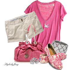 pink outfit,toms