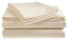 Queen Sheet Set 100 Percent Cotton 4 Piece 400 Thread Count Deep Pockets Ivory #LondonHome