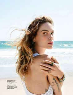 """""""The White Lady"""" Erin Wasson for ELLE France June 2015"""