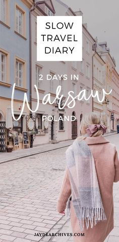 Our slow travel diary for two days in Warsaw, Poland. Think pastel buildings, cute alleyways, amazing coffee and the most delicious rose-jam donuts. Slow Travel, Pet Travel, Travel Usa, Travel Books, Europe Travel Guide, Travel Guides, Travel Tips, Travel Packing, Travel Backpack