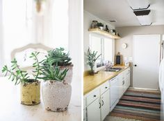 Love the stylish vintage feel of this kitchen. | Blog Kelli Murray