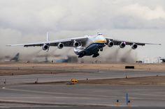 #Antonov 225 - The biggest airplane!