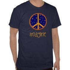 Imagine Artsy Peace Symbol T-Shirts  http://www.zazzle.com/imagine_artsy_peace_symbol_t_shirts-235175865583183297?rf=238282136580680600*