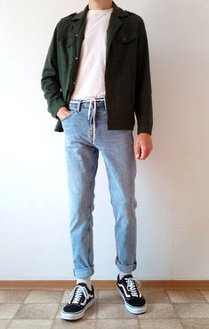 Vintage Outfits Discover vans old skool boys guys outfit Indie Outfits, Retro Outfits, Vintage Outfits, Casual Outfits, Fashion Outfits, Basic Outfits, Guy Outfits, Work Outfits, Men Casual