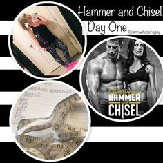 fitness blog lose weight Hammer and Chisel Day ONE!