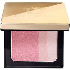 Bobbi Brown Brightening Blush (115.780 COP) ❤ liked on Polyvore featuring beauty products, makeup, cheek makeup, blush, bobbi brown cosmetics and blush brush