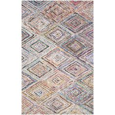 Safavieh Handmade Nantucket Multicolored Cotton Rug (8' x 10') | Overstock™ Shopping - Great Deals on Safavieh 7x9 - 10x14 Rugs   $334