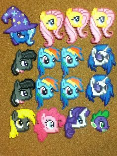 My Little Pony Heads