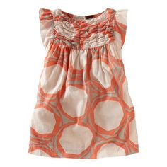 Tea Collection: Dot Print Party Dress