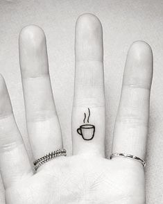 18 Tiny Tattoos For Coffee-Lovers