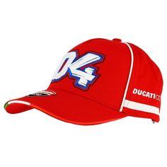 Ducati Corse Cappellino Baseball  04 Andre Dovizioso Red (GPR apparels 18  46011) aed8e135504b