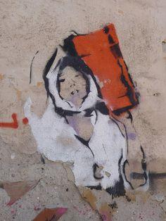 Found in Sibiu (Hermannstadt), Romania by Michael Müller Love Art, All Art, Graffiti, Best Street Art, Street Artists, Best Artist, Public Art, Urban Art, Romania