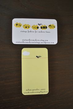 Branding Your Etsy Shop – DIY Business Cards, Price Tags, and Packaging