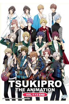 Tsukipro The Animation Vol.1-13End Anime DVD English Sub