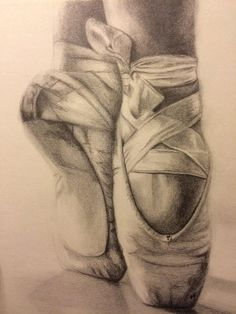 Ballet Shoes by AmandaDiFioreFineArt on Etsy