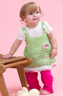 Peapod Baby Dress 6 mo, 12 mo, 18 mo, 24 mo | Free Pattern
