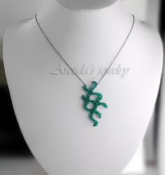 jewelry inspired by bacteria - i'm such a science nerd.