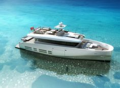 """Wally//Ace Elegant, luxo-cruiser. Gives me inspiration to be successful. """"I'm on a boat"""" would be on replay."""