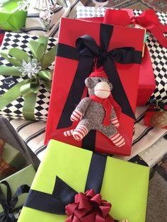 Christmas gift wrap for kids