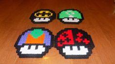 set of 4 batman riddlerjokerharley quinn by TmSalesCreations