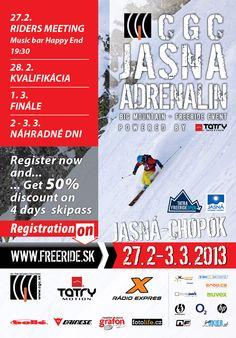 CGC Jasná Adrenalín, 27.2 – 3.3.2013