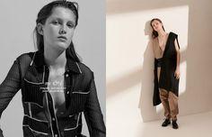 Dress / Christian Wijnants Opposite Jumpsuit / Kimberley Jenneskens  Coat / Samsøe & Samsøe  Shoes / Levi's