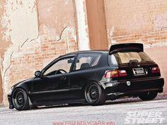 cool honda civic hatchback si 1992 car images hd 1992 Honda Civic Si JT Money Super Street Magazine honda civic 92