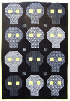FREE PROJECT :: No Bones About It Quilt by Michelle Engel Bencsko
