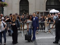 My boyfriend snapping this picture of me with Zac Posen was probably the best part of Day 2 of my NYC adventures!