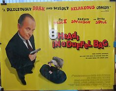 Joe pesci 8 #heads in a #duffel bag (1997) original #rolled uk movie poster,  View more on the LINK: 	http://www.zeppy.io/product/gb/2/231801943417/