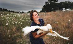 Απολαυστικές φωτογραφίες παιδιών στην φάρμα τους.