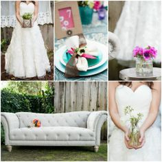 country wedding themes   Bright & Colorful Wedding Inspiration - Rustic Wedding Chic