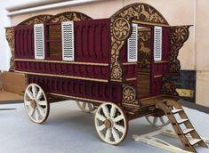 The Prancing Pony - The Prancing Pony Gypsy Wagon - Gallery - The Greenleaf Miniature Community
