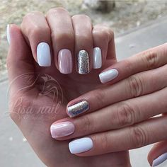 We all want beautiful but trendy nails, right? Here's a look at some beautiful nude nail art. Perfect Nails, Gorgeous Nails, Love Nails, Stylish Nails, Trendy Nails, Manicure And Pedicure, Diy Nails, Nails Inspiration, Beauty Nails