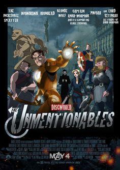 Discworld / Avengers crossover