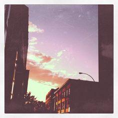 Montréal's sky during the summer.