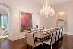 Single Family Home, Single Family Home for sales at Sophisticated Regency Estate 695 S County Rd Palm Beach, Florida 33480 United States Luxury Dining Room, Dining Room Design, Dining Rooms, Boca Raton Real Estate, Parquet Flooring, Classical Architecture, Regency, Palm Beach, Living Spaces