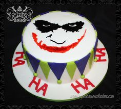 #batman #joker #birthdaycake #hahaha #jokerface #thejoker #cake_art #edible_art #occasional_cakes #stl #stlouis #saintlouis