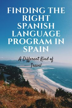 When trying to decide which Spanish language program in Spain is right for you, it's important to consider what type of learner you are, what you want to get out of the program (other than language), how much personal space or social interaction you want, how much time you have and your budget. I've tried three different styles of language programs in Spain and researched 100s more-take a look at my suggestions :)