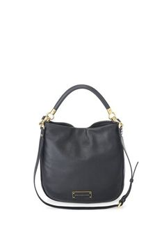 Marx Jacobs Too Hot to Handle Hobo in Black Marc Jacobs Bag, Day Bag, Cow Leather, Hobo Bag, Clutch Wallet, Diaper Bag, Handbags, Purses, Handle