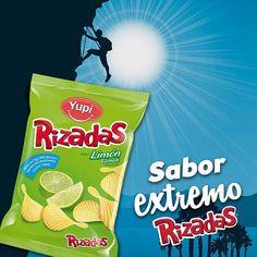#Rizadas Limón, sabor extremo