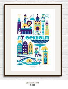 Stockholm-Poster Ingela P. Arrhenius