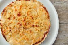 Tortino patate, mortadella e Parmigiano